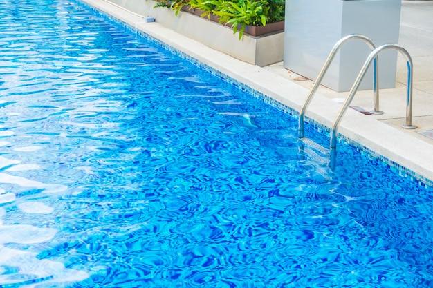 Piękny luksusowy hotel basen ośrodek