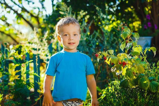 Piękny mały chłopiec
