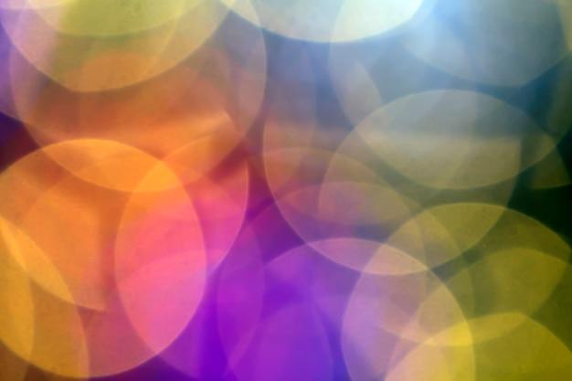 Piękny miękki multicolor bokeh tło