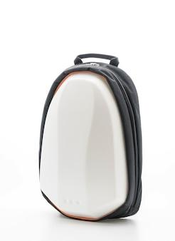 Piękny plecak na białym