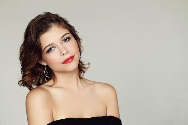 Piękny portret kobiety