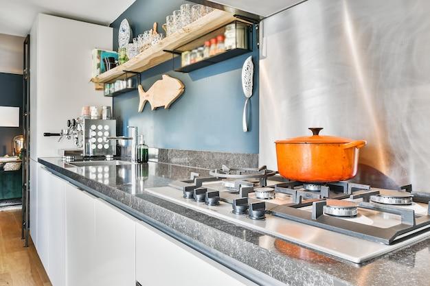 Piękny projekt kuchni
