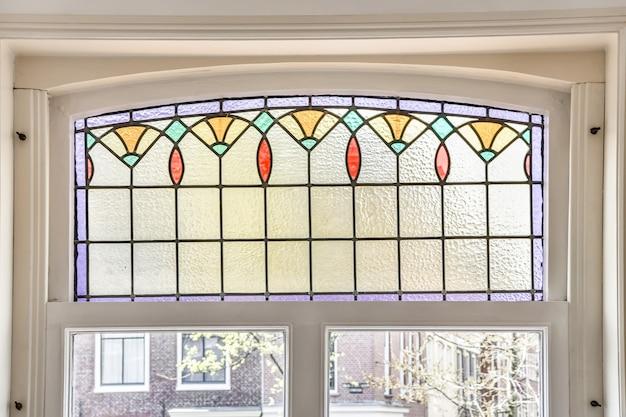 Piękny projekt okna