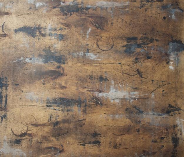 Piękny streszczenie brązowe drewniane tło z grunge tekstur