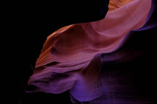 Piękny strzał z grand canyon w arizonie