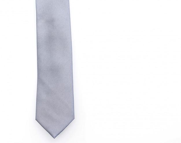 Piękny szary krawat