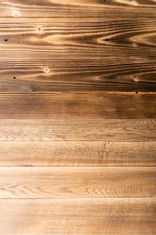 Piękny vintage brązowy drewniany