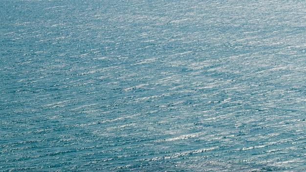 Piękny widok na morze z oceanem