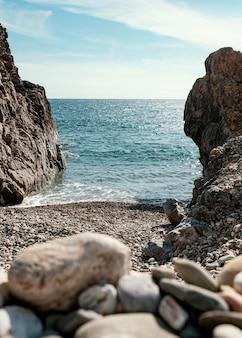 Piękny widok na morze