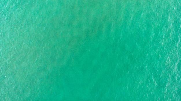 Piękny widok z lotu ptaka wybrzeża