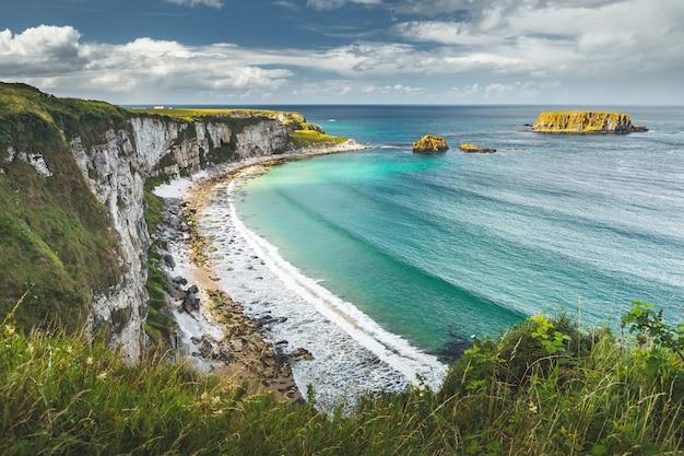 Piękny wiejski irlandzki kraj natury krajobraz