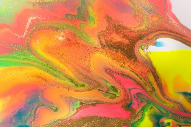 Piękny, żywy wzór marmuru. fluorescencyjne jasne tło.