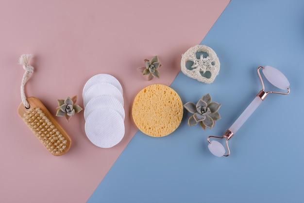 Pielęgnacja skóry wielokrotnego użytku uzupełnia koncepcję zrównoważonego stylu życia zero waste zero