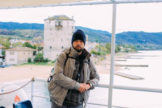 Pielgrzymi promem do świętej góry athos
