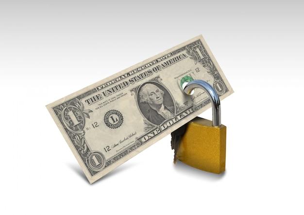 Pieniądze bezpieczeństwo e-commerce, dolar