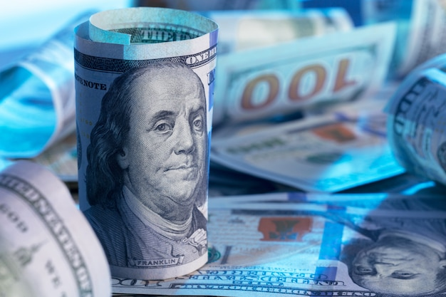 Pieniądze z bliska