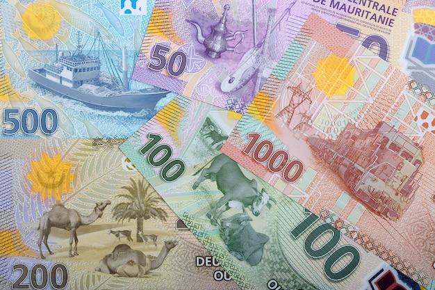 Pieniądze z mauretanii, otoczenie biznesu
