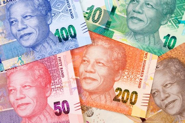 Pieniądze z republiki południowej afryki
