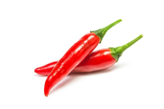Pieprz chili izolowane