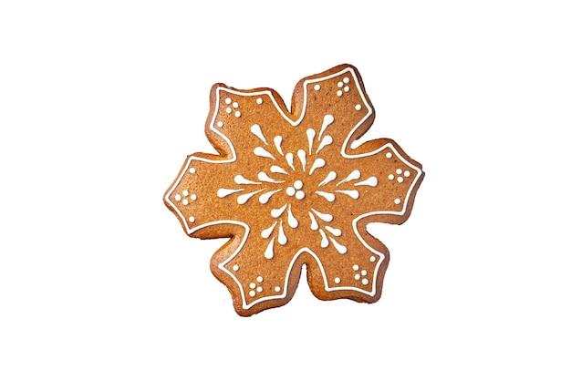 Pierniczki świąteczne ciasteczka ciasteczka nowy rok karta domowej roboty słodki deser tło żywności