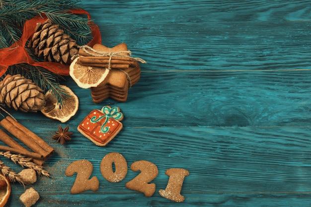 Pierniki na nowy rok i boże narodzenie