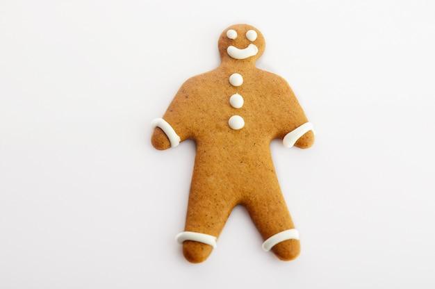 Piernikowe ciasteczko w kształcie człowieka