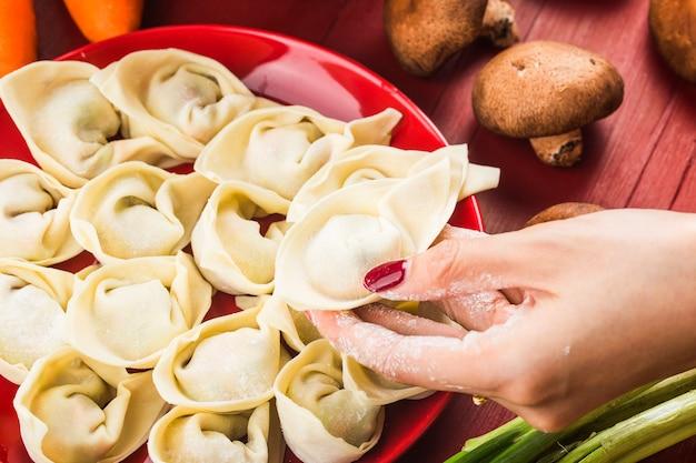 Pierogi na chiński festiwal chińskie festiwale