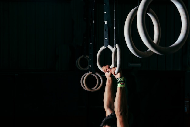 Pierścienie do gimnastyki