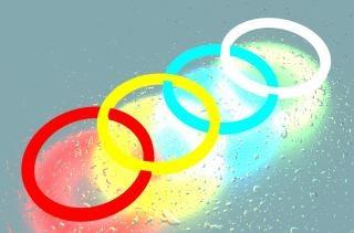 Pierścienie kolor