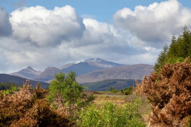 Pierwsze spojrzenie na highlands of scotland