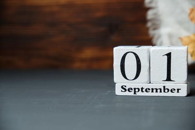 Pierwszy dzień jesiennego miesiąca kalendarzowego września