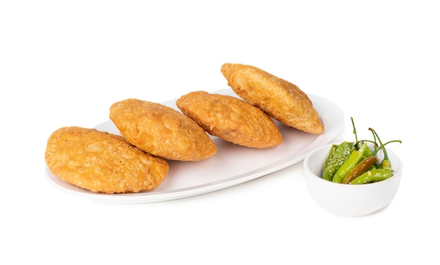 Pikantne indyjskie jedzenie z ulicy kachori
