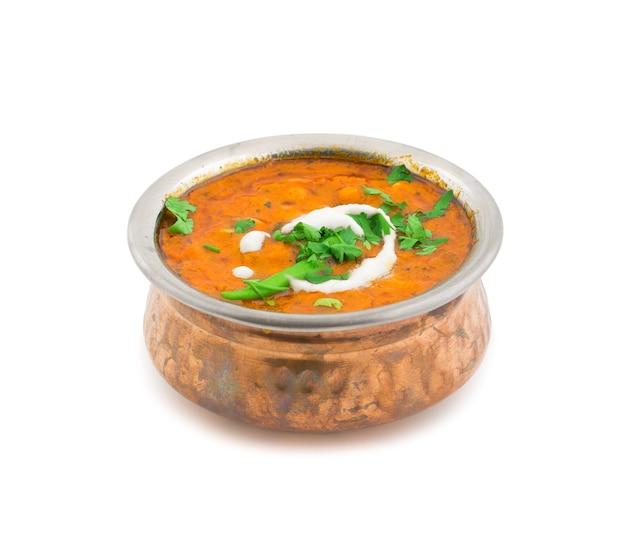 Pikantny dal fry dhal / daal curry popularny tradycyjny północno-południowy indiański jedzenie
