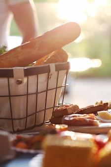 Piknik w przygotowaniu
