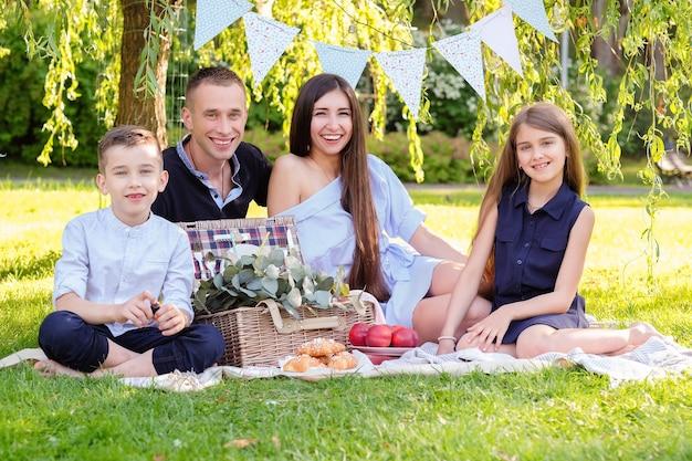 Piknik z rodziną