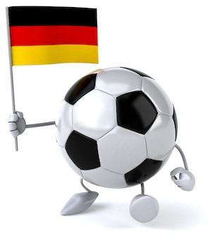Piłka nożna - postać 3d