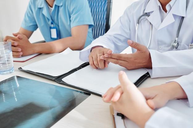 Pilne spotkanie lekarzy