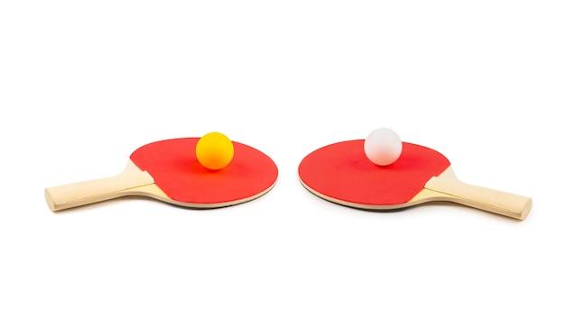 Pin pong na pomarańczowo.