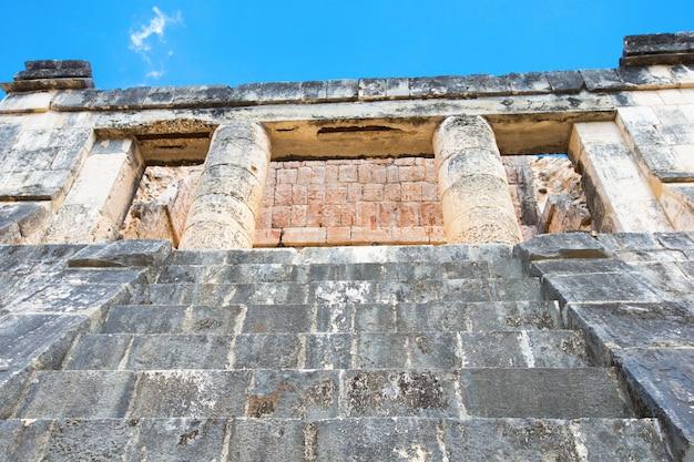 Piramida kukulkan w chichen itza, meksyk