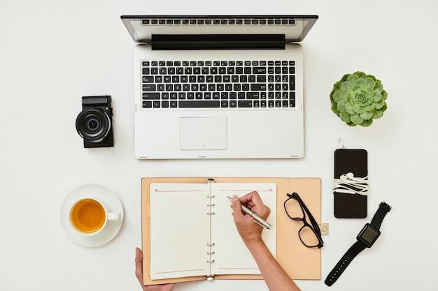 Pisanie biznesplanów w notatniku