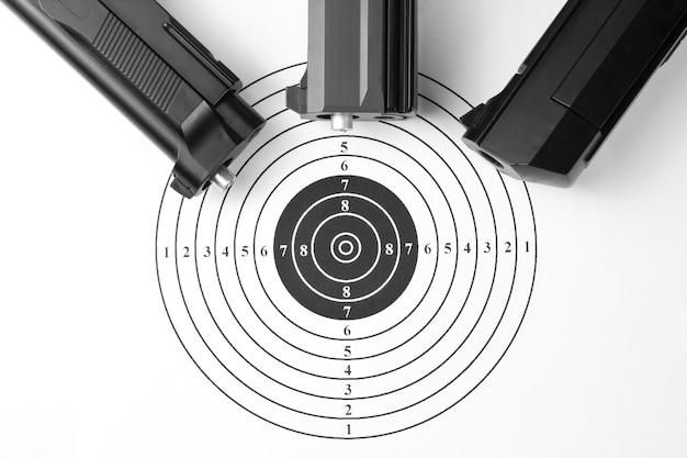 Pistolety celownicze i pneumatyczne