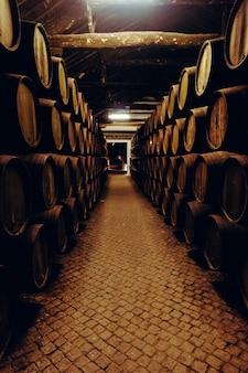 Piwnica z winami w porto, portugalia