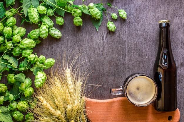 Piwo butelkowe i szklane ze składnikami browarnianymi