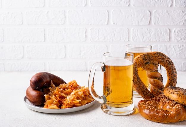 Piwo, precle i potrawy bawarskie