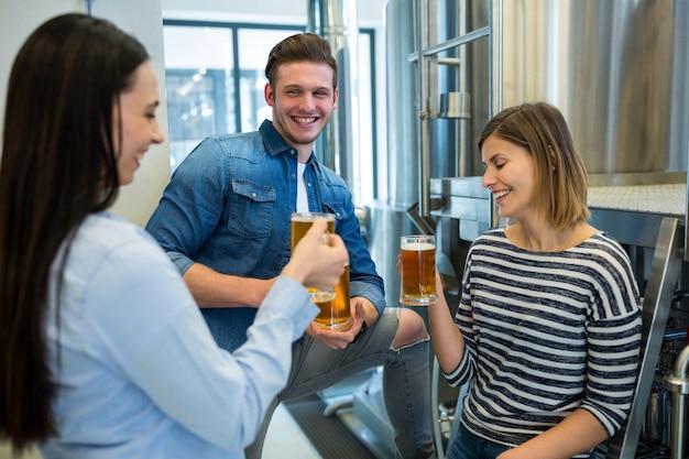 Piwowarstwo ma piwo w browarze