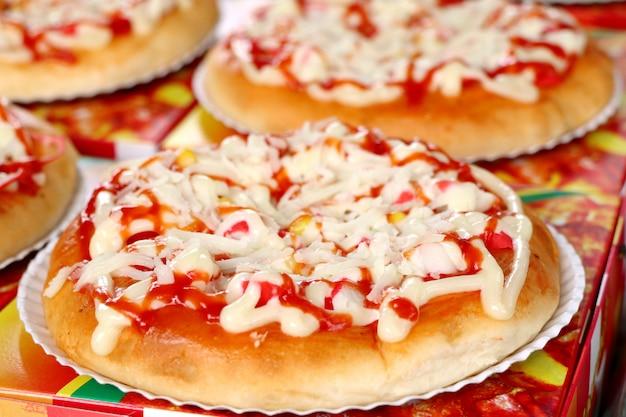 Pizza na ulicy żywności
