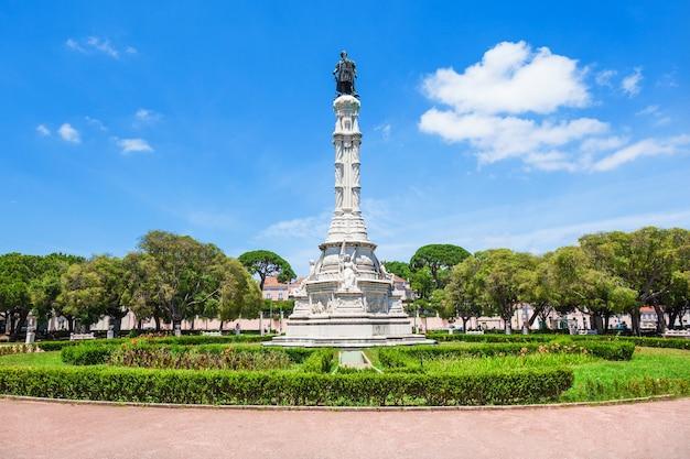 Plac afonso de albuquerque, lizbona, portugalia