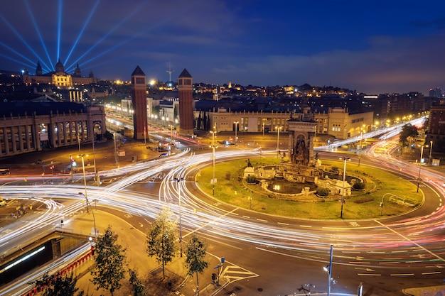 Placa d'espanya, barcelona, hiszpania