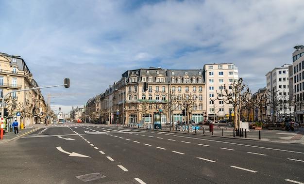 Place de paris w mieście luksemburg