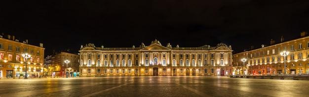Place du capitole w tuluzie - francja